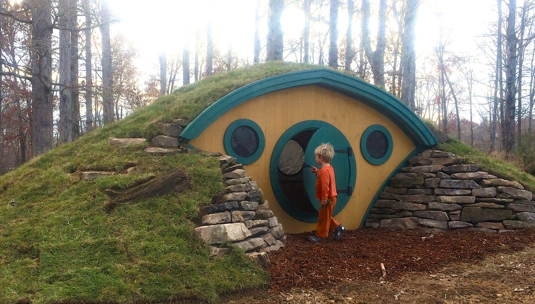 Buy a Unique and Fun Hobbit Hole Playhouse Backyard Fort Ideas Blueprints Html on